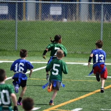 Great start for flagplus/Lakeshore outdoor flag football!
